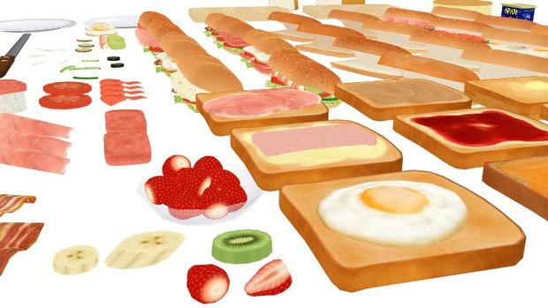 サンドウィッチシステム改めモブ食セット