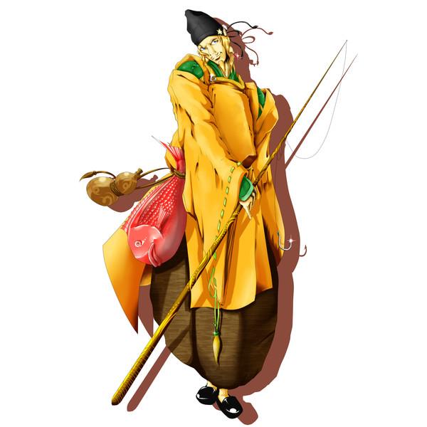 7人で七福神の恵比寿様 しゅまーれん さんのイラスト ニコニコ静