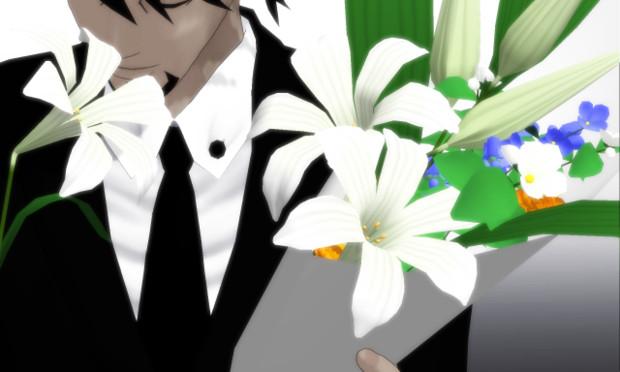 配布百合の花花束 Bobodi さんのイラスト ニコニコ静画 イラスト