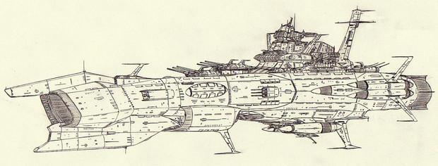 大型宇宙機動戦艦アルデバラン「自作艦」