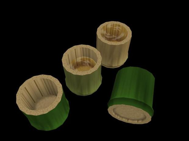 竹コップ1