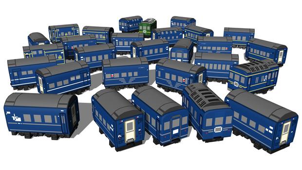 24系客車。