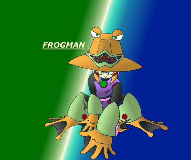 フロッグマン