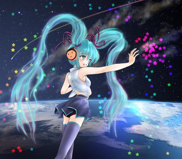 銀河系ネットワークで歌を歌ってみた