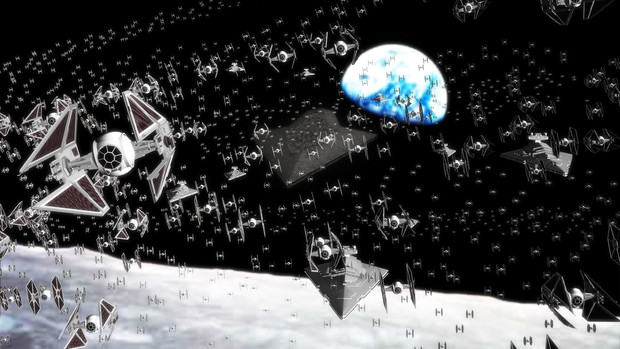 【MMD】変態さん艦隊、月にて展開中