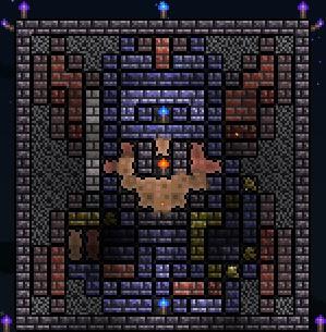TerrariaでDQ1の主人公を作ってみた