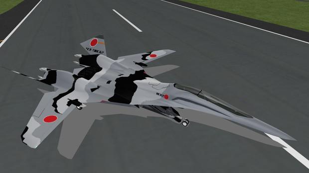 ほぼ完成!「NGFIC飛行教導隊専用機」