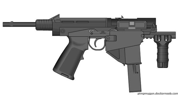 自殺用短機関銃