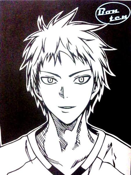 【切り絵】赤司征十郎 2【黒子のバスケ】