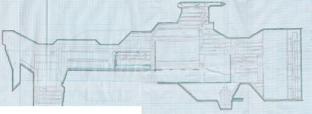 ヘイムダル級 内装マップ 下書き