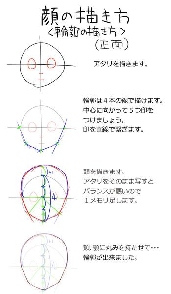 輪郭の描き方 クロル さんのイラスト ニコニコ静画 イラスト