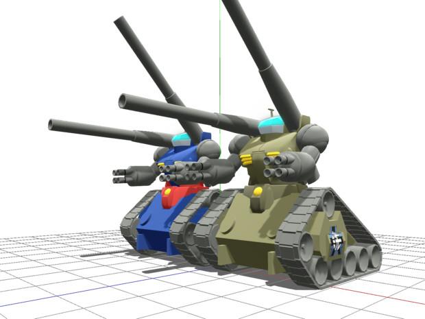 ルノーガンタンクB1bis