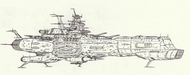 宇宙戦艦エスパーニャ「自作艦」