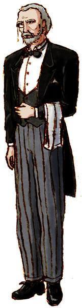 みんキャラの執事の名前はジェロームにします
