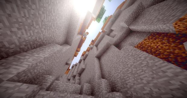 【Minecraft】渓谷から2【影MOD】