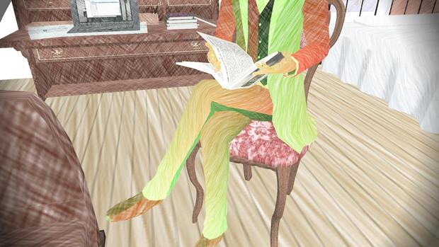 熾 天 使 は 本 を 読 ん で い ま す