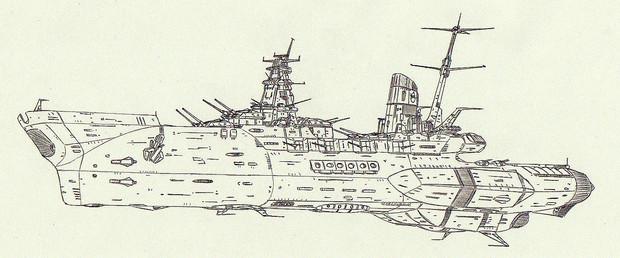 宇宙航空戦艦イセ「自作艦」