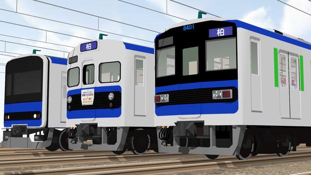 【速報】東武8000系塗装変更