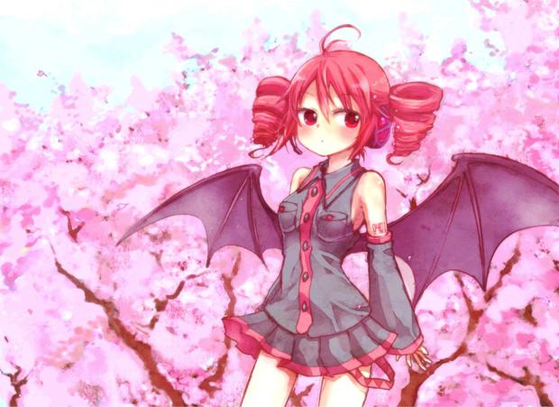 【重音テト誕生祭2013】桜とテトさん【おめでとう】