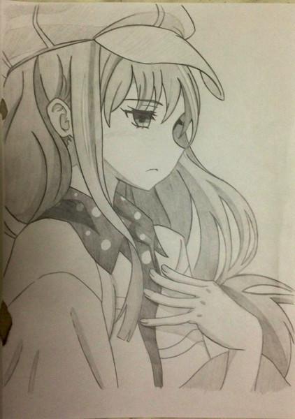 【模写】鳴護アリサ