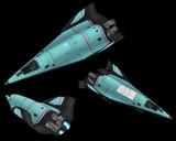MMD用スペースシャトル TN-393 CosmicCraft
