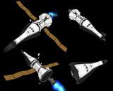 MMD用有人宇宙船 TN-CEV1