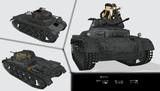 [MMDモデル配布]II号戦車C型