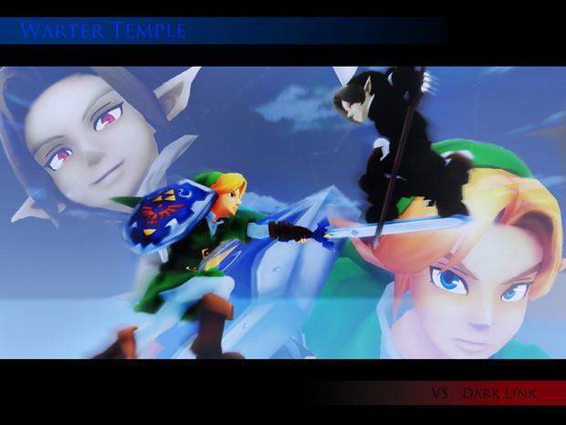 【MMDゼルダ】 VS  DarkLink