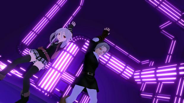 【MMDゼノレダ】get up & moveを影組に踊って頂きたい