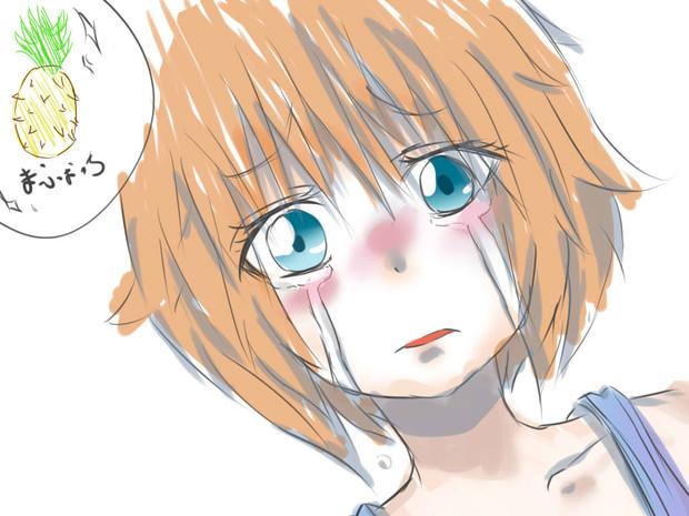 泣いている幼女