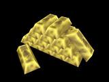 近海で採れた金塊1