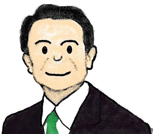 麻生太郎氏超修正 大角豆洋汰 さんのイラスト ニコニコ静画