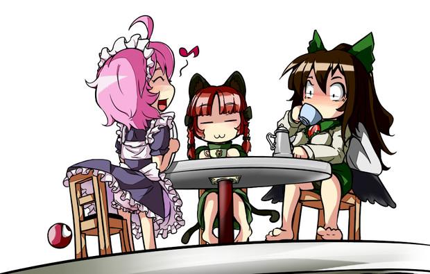 メイド喫茶♪