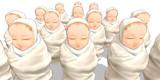 【配布】おくるみ赤ちゃん