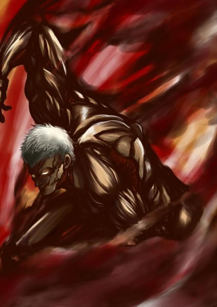進撃の巨人パワー自慢の鎧の巨人
