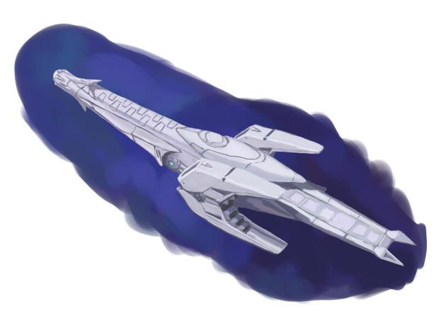 星界軍カウ級巡察艦-後-