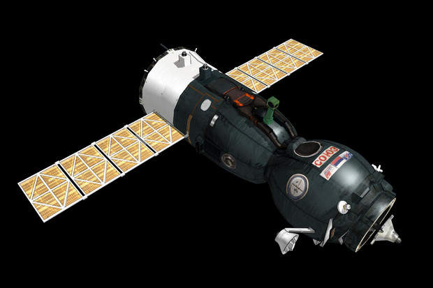 MMD用ソユーズTMA型宇宙船