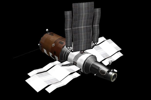 MMD用サリュート7号宇宙ステーション
