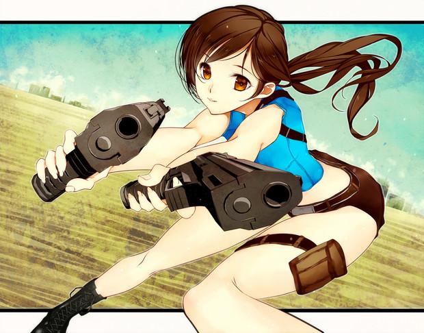 二丁拳銃 Pon3モダンアフロ さんのイラスト ニコニコ静画 イラスト