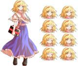 アリス立ち絵 表情差分