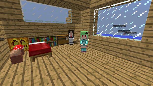 【Minecraft】速報 らいち♪さん専属メイドを部屋に連れ込む