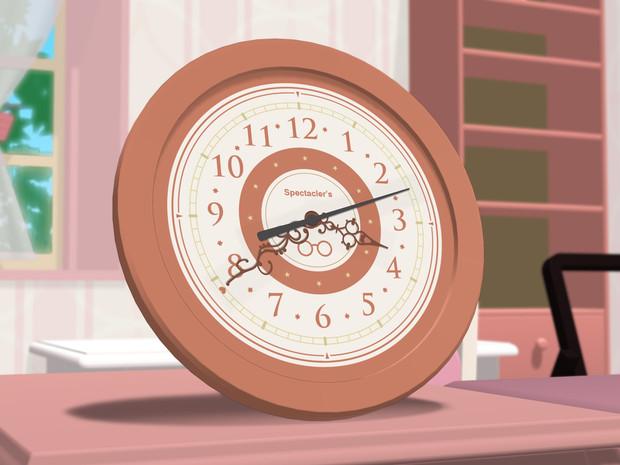 【MMD-OMF3】チクタクアナログ時計【MMDモデル配布】
