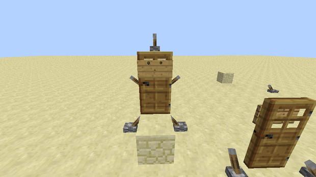 ドアの守り神【Minecraft】