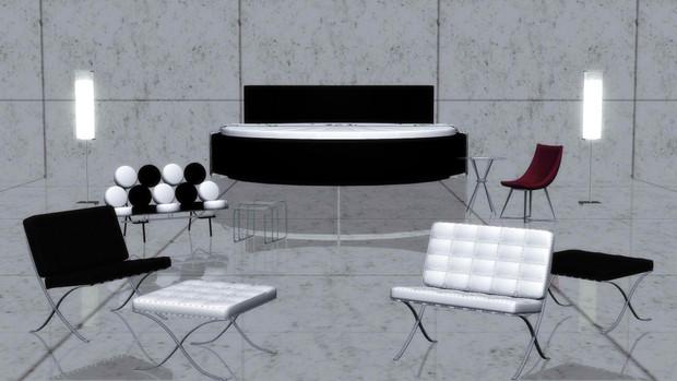 【MMD-OMF3】家具詰め