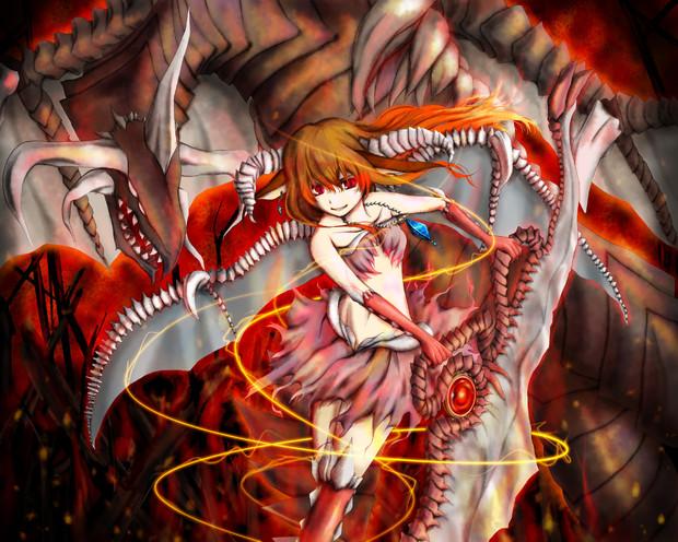 紅龍姫マゼンタ