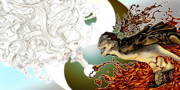 天使と悪魔 Pakiram さんのイラスト ニコニコ静画 イラスト