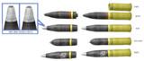 【MMD-OMF3】 7.5cm KwK 37 L/24 砲弾セット