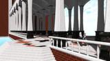 【MMD-OMF3】大きな渡り廊下