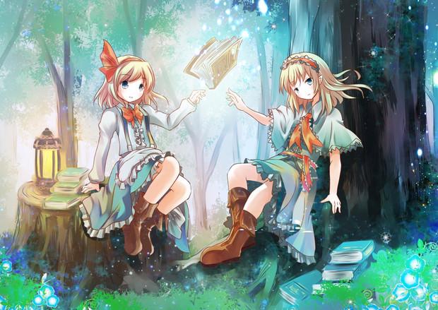 魔法の森のアリスたち