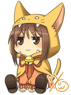 猫ずきんちゃん
